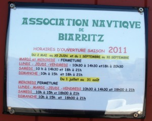 Association nautique Biarritz