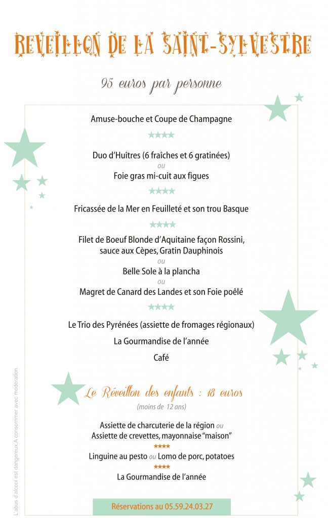 Restaurant-Biarritz-Menu-Réveillon-Nouvel-An-2013-2014